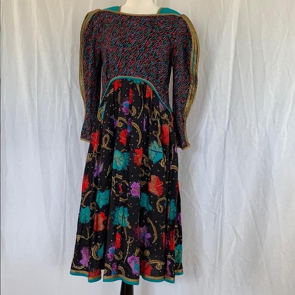 Vintage Dresses & Skirts - Jeanne Marc Dress Size 8 10 Vintage